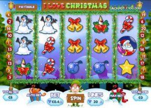 игровой автомат I Love Christmas от PariPlay