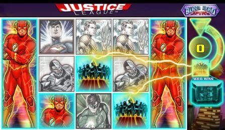 Игровой слот Justice league