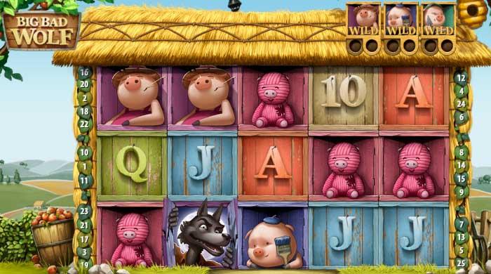 Обзор игрового автомата Big Bad Wolf от Quickspin